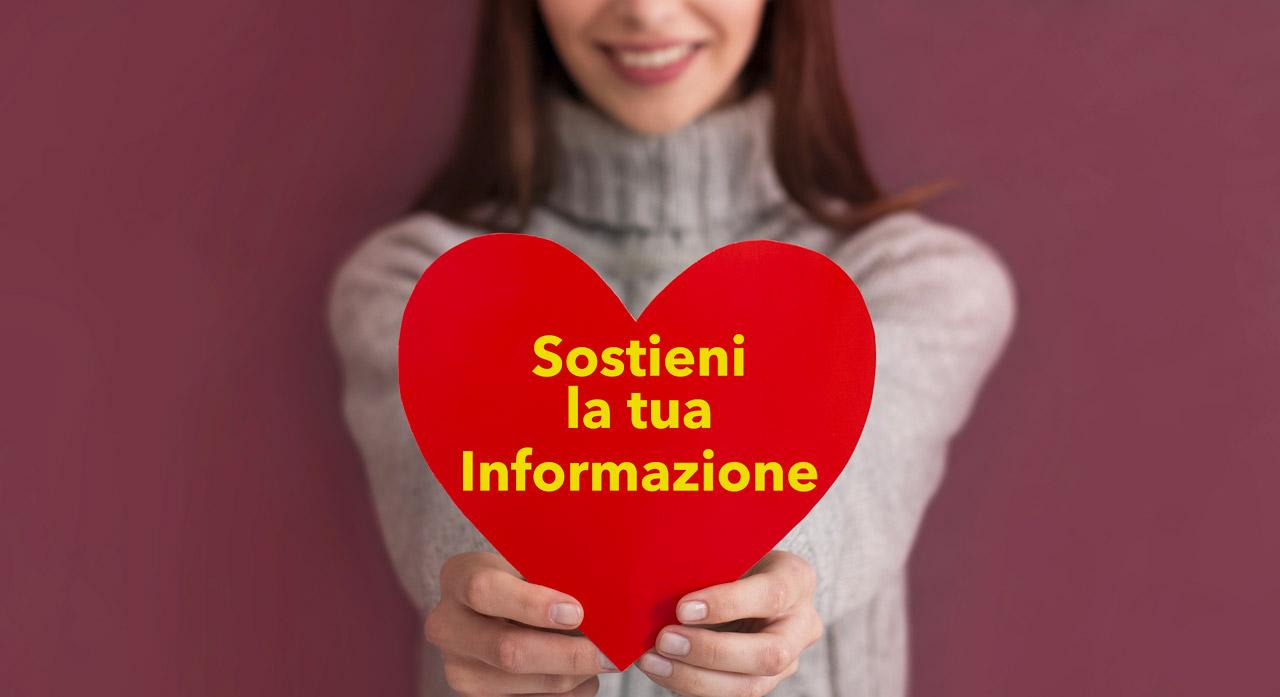 Sostienici e Dona per l'informazione